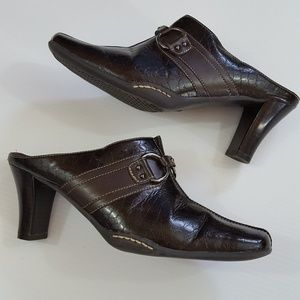 A2 by Aerosoles | size 8 High Heel Mules Brown